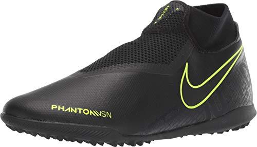 Nike Phantom Vision Academy DF TF - Black-Volt 9.5