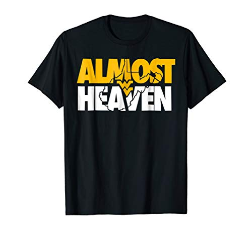 Almost Heaven T Shirt Gift For West Virginia