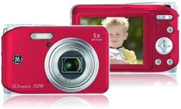 Ge General Electric J1250 Digitalkamera 2 7 Zoll Rot Kamera