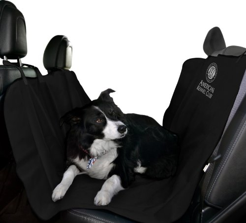 American Kennel Club Pet Car Seat Cover, Black (Car Kennels For Dogs)