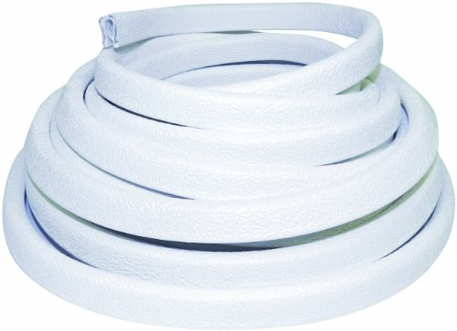 Taco Metals Flexible Vinyl Trim, White, 1/4-Inch