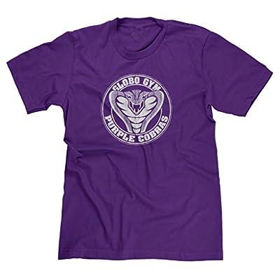 FreshRags Purple Cobras Globo Gym Funny Dodgeball Parody Men's T-shirt