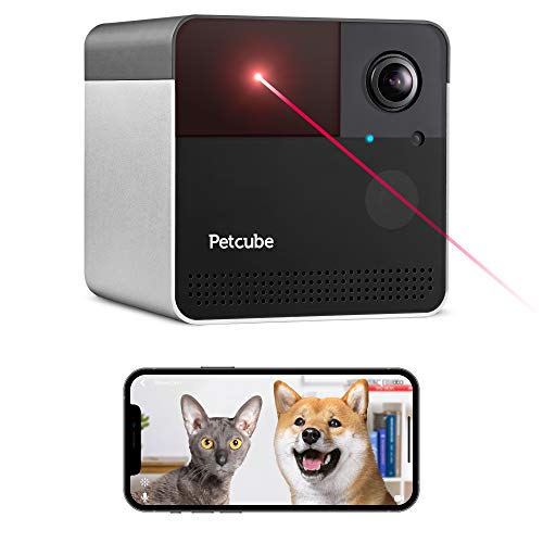 Wi-Fi pet camera with laser toy