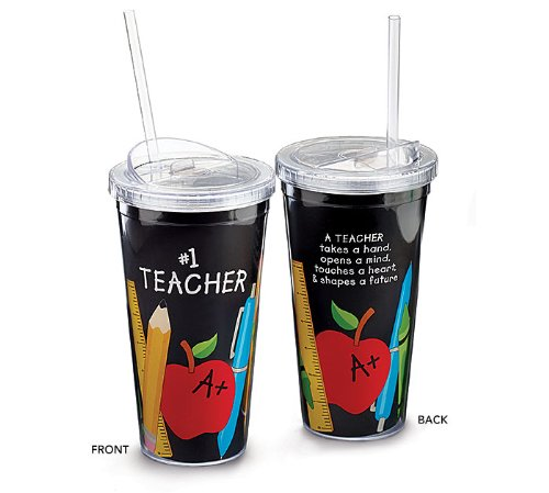 Teacher Appreciation Acrylic Travel Sippy product image