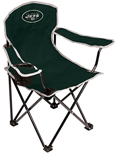Coleman NFL New York Jets Youth Folding Chair, Green