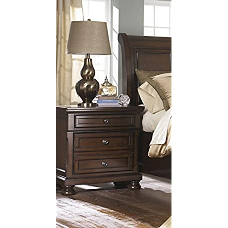 Nightstand In Brown Finish 732271