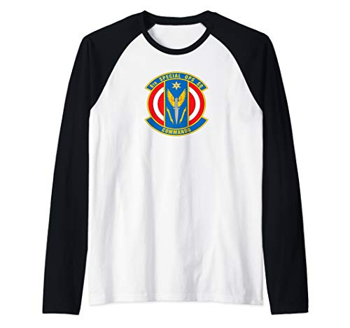 6th Special Operations Squadron Raglan Baseball Tee