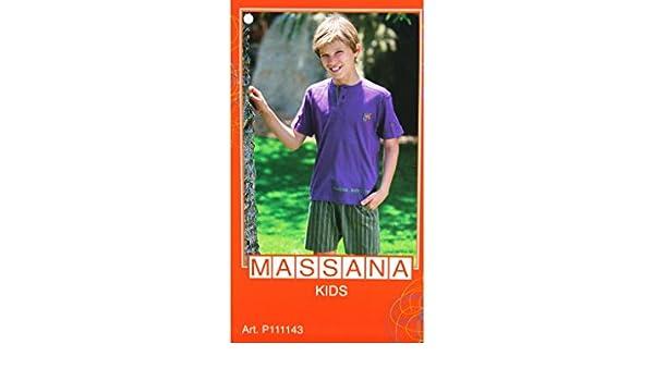CAL FUSTER - Pijama Massana de Verano Niño Talla 16: Amazon.es: Ropa y accesorios