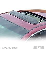Wade 72-33110 41.5-Inch Wide Smoke Tint Sunroof Wind Deflector