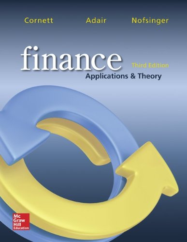 Finance: Applications and Theory (McGraw-Hill/Irwin Series in Finance, Insurance, and Real Est)