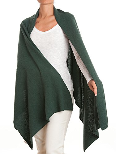 Dalle Piane Cashmere - Stole cashmere blend - Made in Italy, Color: Green, One Size