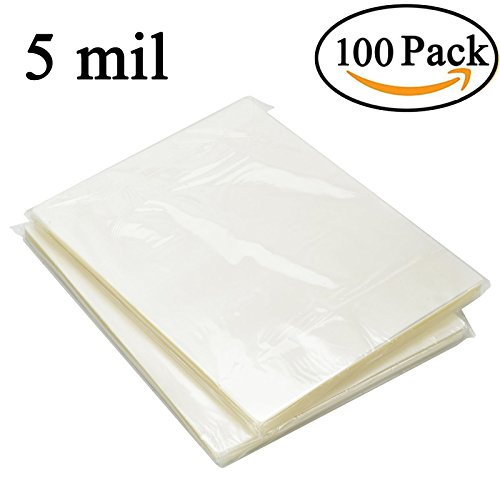 RyhamPaper Thermal Laminating Pouches, 9 x 11.5-Inches/Letter Size/5 mil, 100 Pack