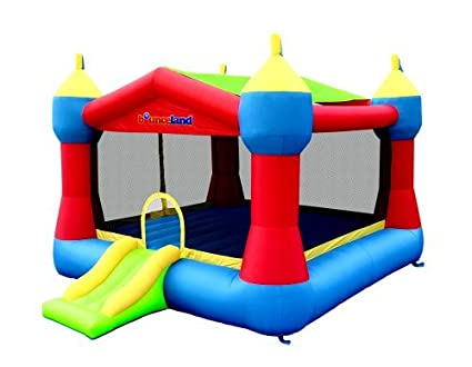 Tremendous Bounceland Inflatable Party Castle Bounce House Bouncer Interior Design Ideas Gentotryabchikinfo