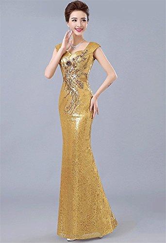 Drasawee Damen Schlauch Drasawee Gold Drasawee Damen Gold Kleid Damen Schlauch Kleid qpTnwSRS