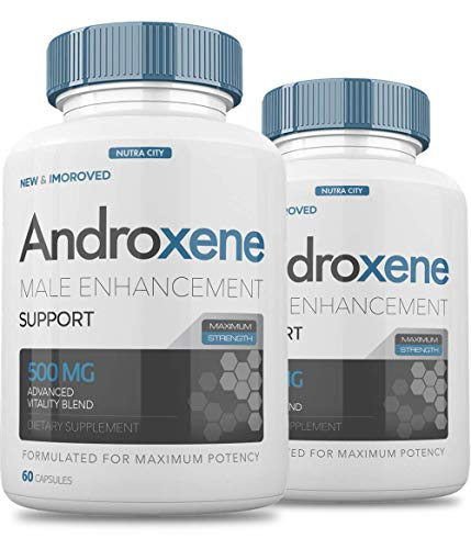(Pack of 2) Andro Androxene Male Enhancement Support - Androxene Pills 500MG Advanced Virility Blend - 120 Caps