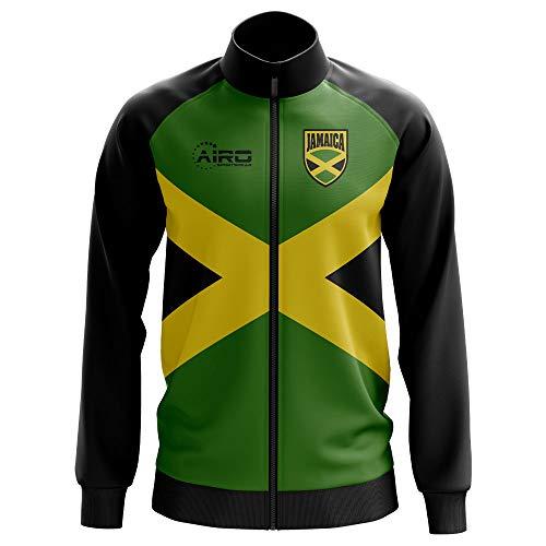 Airo Sportswear Jamaica Concept Football Track Jacket (Green) ()