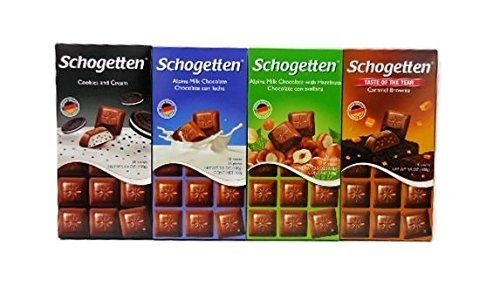 - Schogetten German Chocolate Variety Pack (Bundle of 4)