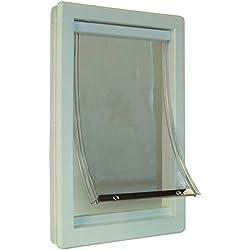 Ideal Pet Products Plastic Pet Door - Super Large - Flap Size: 15 x 20 - IPP-PPDSL by Ideal Pet Products
