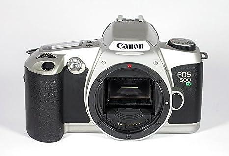 Canon EOS 500 Rebel xsn Cuarzo Fecha Plata Enfoque automático ...