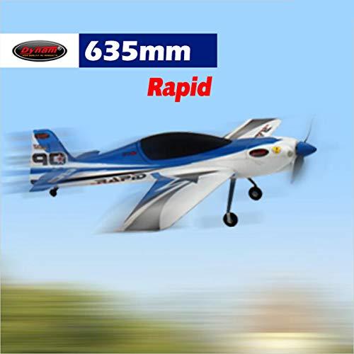 - DYNAM RC Airplane Rapid 635mm Wingspan - PNP