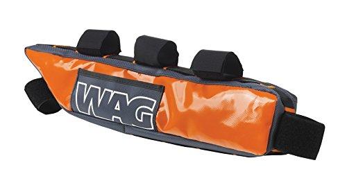 Wag Tasche unter Rute Rahmen Bike Packing Tourismus Wasserdicht Orange (Taschen Reise)/Frame Bag Under Top Tube Touring Bike Packing Waterproof Orange (Travel Bag)