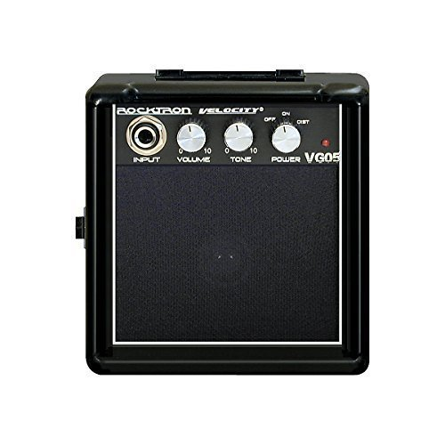 Rocktron Velocity Series VG05 Battery Powered Guitar Combo Amp Black by Rocktron