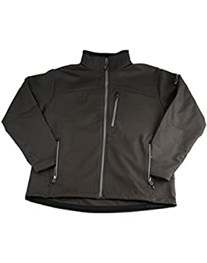 Mens Lucky Find II Softshell Water Resistant Jacket