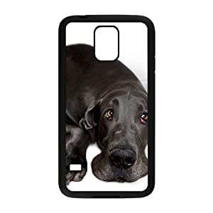 Great Dane Dog Custom Cover Case with Hard Shell Protection for SamSung Galaxy S5 I9600 Case lxa860311