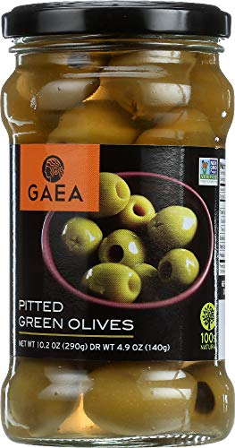 (NOT A CASE) Organic Pitted Green Olives