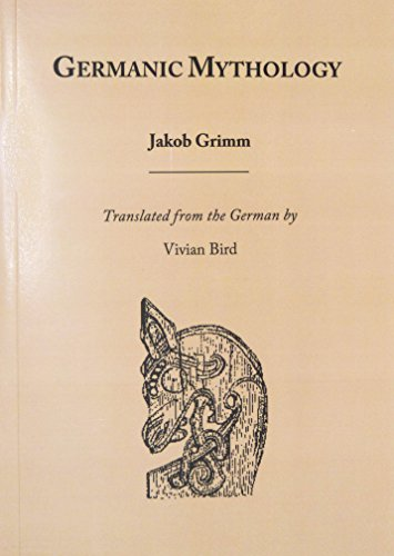 Germanic Mythology (Mankind Quarterly Monograph Series)