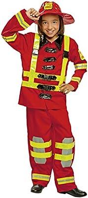 My Other Me Me-200912 - Disfraz de bombero para niños, Talla 10-12 ...
