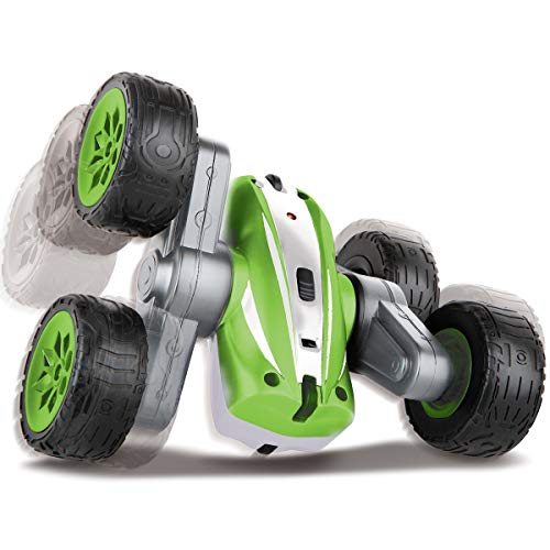 Black Series The Mini RC Flip N Roll Racer Toy Car for Kids, 360 Degree Rotation Action, Wireless Remote Control/Built in Radio Frequencies, All Terrain Rugged Rubber Tires, Off Road Stunts