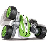 Black Series The Mini RC Flip 'N Roll Racer Toy Car for Kids, 360 Degree Rotation Action, Wireless Remote Control/Built in Radio Frequencies, All Terrain Rugged Rubber Tires, Off Road Stunts