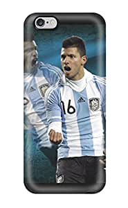 Hot Design Premium UXdnIqD1279JPCHK Tpu Case Cover Iphone 6 Plus Protection Case(sergio Aguero Argentina)