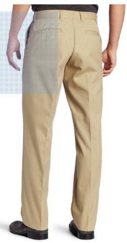 Dickies Men's Flat Front Pant, Khaki, 30X34
