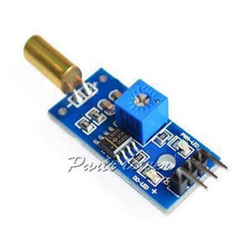 Amazon.com - 3pcs Tilt Sensor Module Golden SW520D with Roll Ball Switch