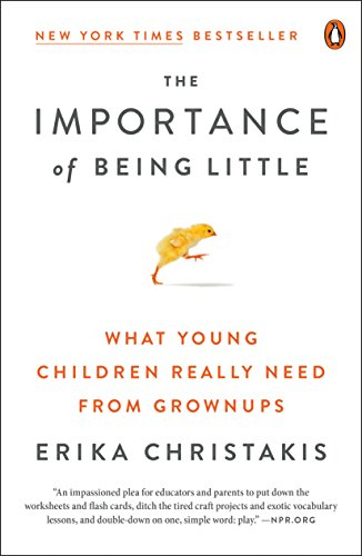 The Importance Of Being Little What Young Children Really Need From Grownups