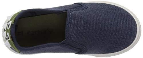 Pictures of carter's Boys' Damon7 Casual Loafer, Navy, 8 M US Toddler 2
