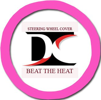 UPC 700987414066, Hot pink steering wheel cover. Beat the heat