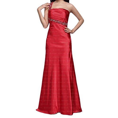 Rot Ital Abend bei Gr Damen Kleid Für 36 In Design Festamo Maxi q7AwRxvX
