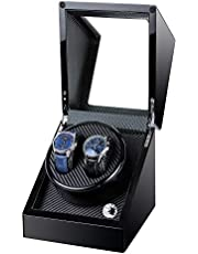 Kalawen Automatic Double Watch Winder Box for All Automatic Mechanical Watches