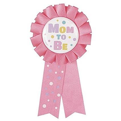 Amazon.com: Baby Shower rosa mamá para ser invitado de ...