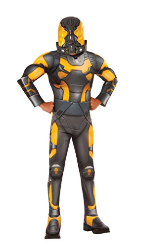 Ant-Man Yellow Jacket Deluxe Costume, Child's Medium (Duo Halloween Costumes For Kids)