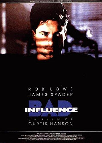 Bad Influence-Rob Lowe-116 cm x 158 Cartel Cinema original ...