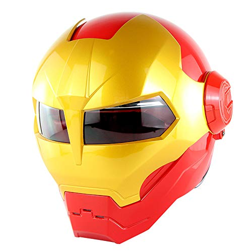 Motorcycle Helmet, Deformed Steel Robot Helmet,H
