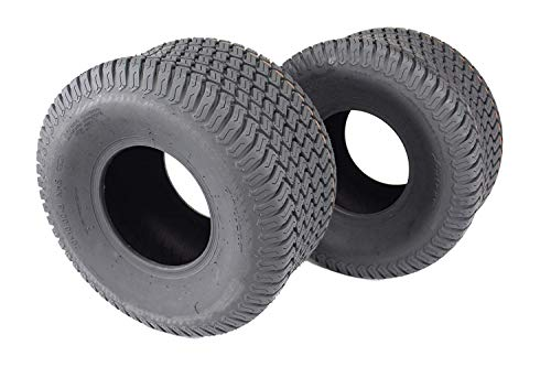 Tires Lawn Garden - Antego Set of Two 20x10.00-8 4 Ply Turf Tires for Lawn & Garden Mower 20x10-8