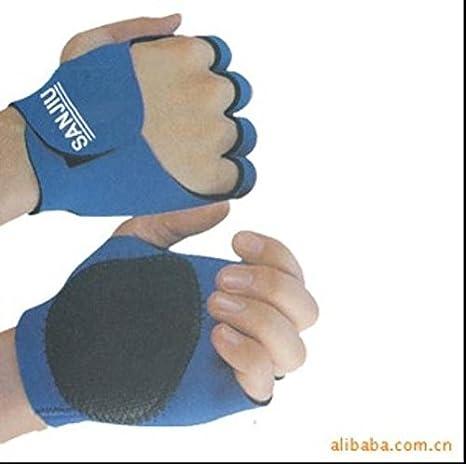 Deportes al aire libre bicicleta de goma proteger palmas puños guantes: Amazon.es: Deportes y aire libre