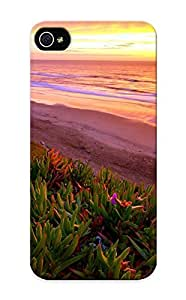 Premium Snap-on Ice Plants On The Beach Case For Iphone 5/5s Series