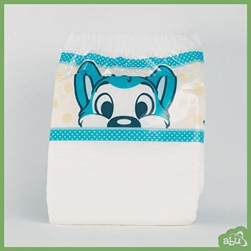 Packung mit 10 Medium ABU PeekABU Diapers Windeln