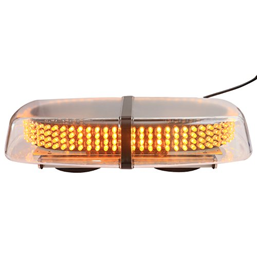 XKTTSUEERCRR Amber Vehicle Car Truck Emergency Hazard Warning 240 LED Mini Bar Strobe Flash Light